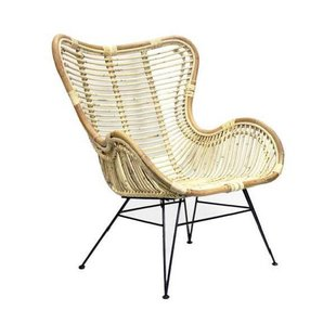 Rotan Egg Chair Naturel - 70x76xH90 cm