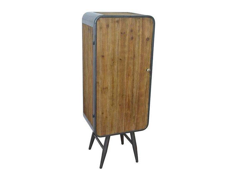 GeWoon Naturel Kast Retro - 40x30xH105,5 cm