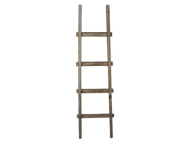 GeWoon Naturel Houten Decoratie Ladder - H140 cm