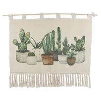 Wandkleed Cactus - 90xH60 cm