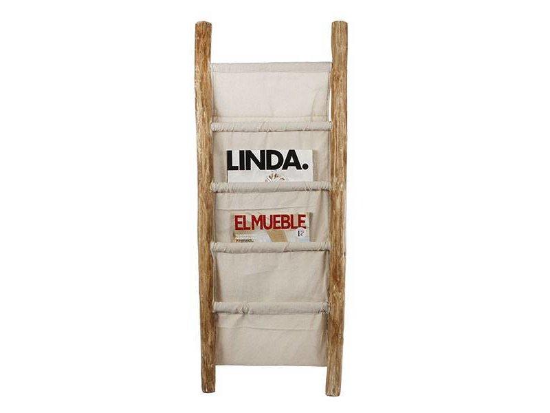 GeWoon Tijdschriftenrek Ladder - 36,5x4xH100 cm