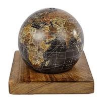 Spaarpot Wereldbol - 12 cm