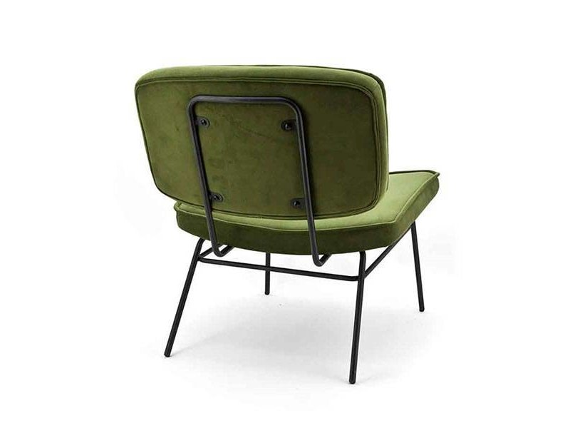 By-Boo Vice Loungestoel Olive - 63,5x73xH76 cm