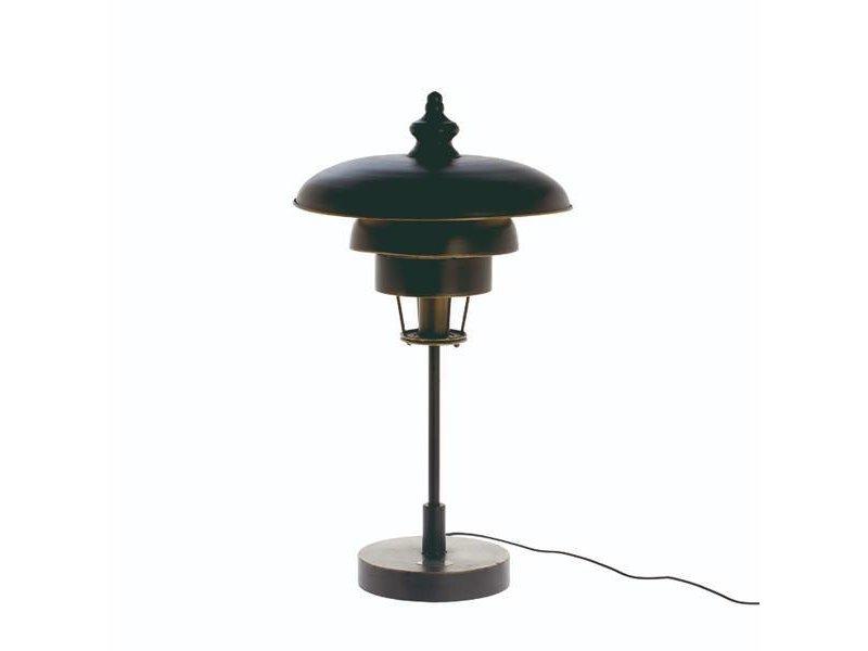 Riverdale Zwarte Tafellamp Boston - Ø38,2xH68 cm