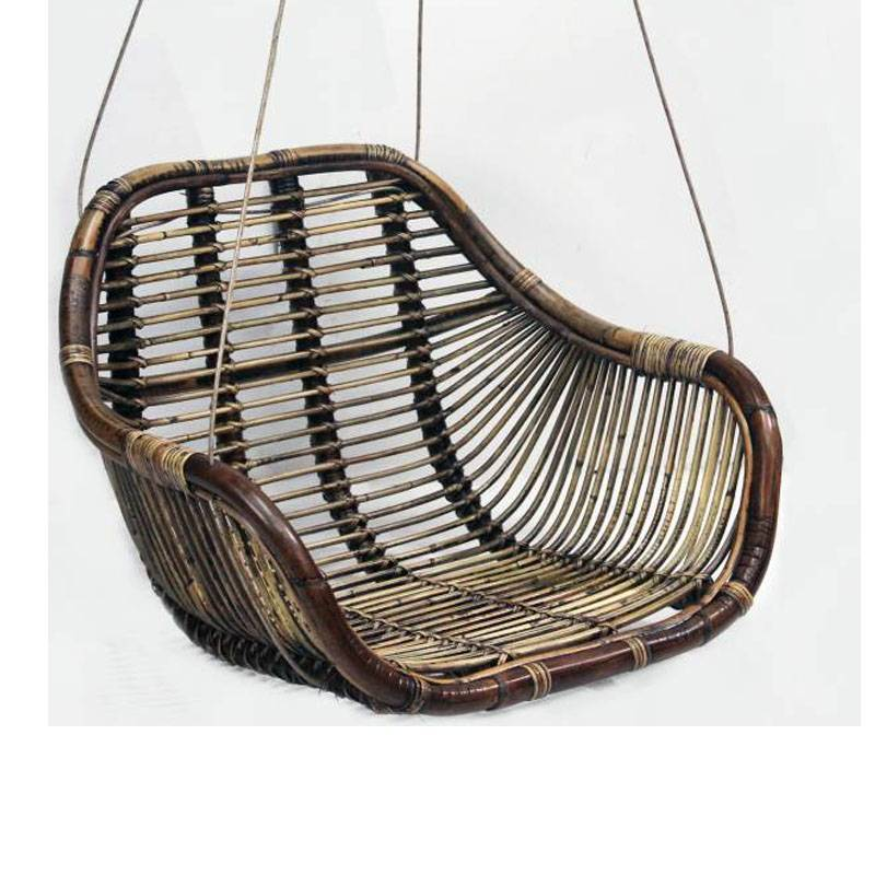 Hangstoel Rotan Buiten.Rotan Hangstoel Swing 66x65xh49 Cm