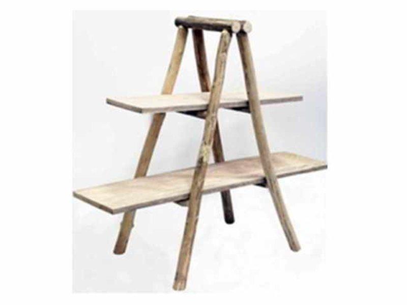 GeWoon Houten Decoratie ladder - 40x11xH90 cm