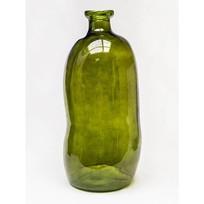 Vaas Glas Vintage Groen - Ø34xH73 cm