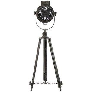 Grijze Klok Dion - 54x46xH147 cm