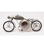 GeWoon Metalen Klok Motor - 48x8xH19 cm