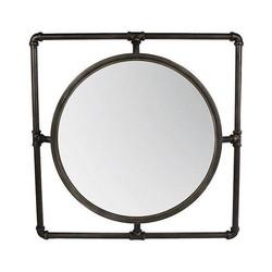 Vierkante Wandspiegel Waterleiding - 63x5,5xH63 cm