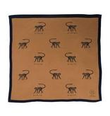 Zusss Frivole sjaal aap camel
