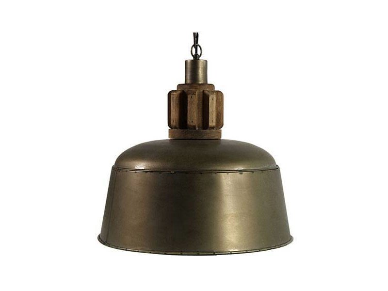 Countryfield Mauk Hanglamp Brons - Ø38xH140 cm