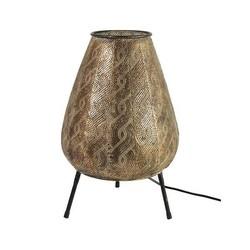 Goltry Tafellamp Goud - Ø29xH45 cm