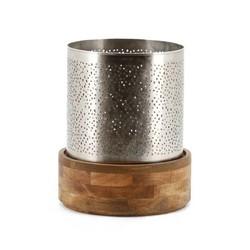 Metalen Windlicht Bazar - Ø29xH35 cm