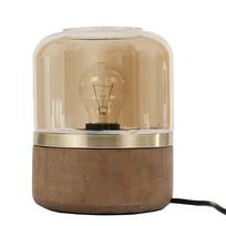 Ronde Tafellamp Amber - Ø15xH18 cm