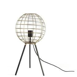 Gouden Tafellamp Dermott - Ø28xH55 cm