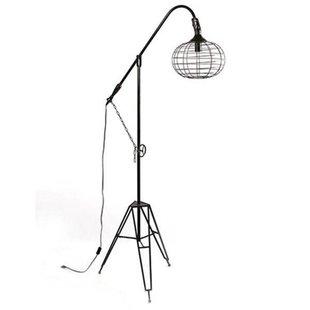Vloerlamp Rivello Zwart - 104x60xH190 cm