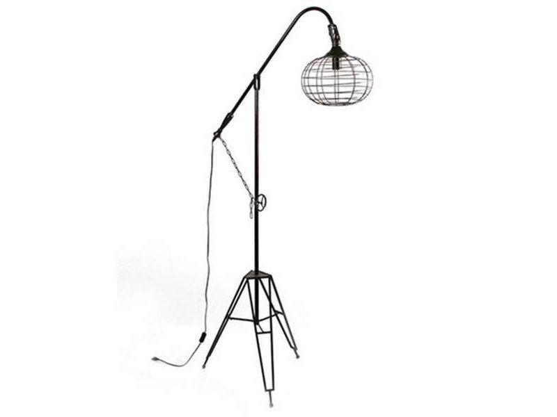 Countryfield Vloerlamp Rivello Zwart - 104x60xH190 cm