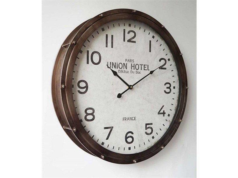 GeWoon Union Hotel Wandklok - Ø55 cm