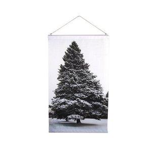 Tree North Schoolplaat - 50xH58 cm