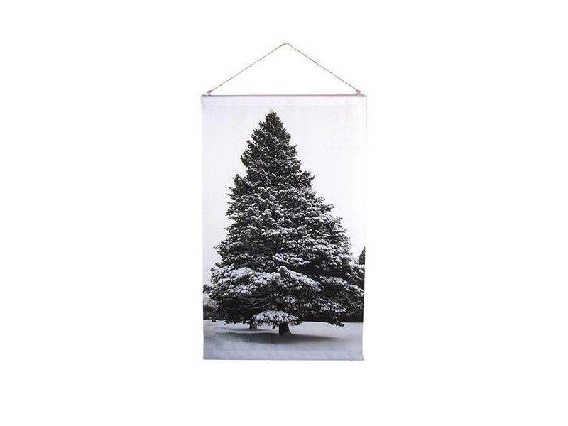 GeWoon Tree North Schoolplaat - 50xH58 cm