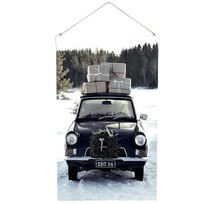 Car Aspen Schoolplaat - 60xH100 cm