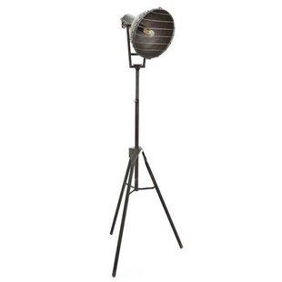 Grijze Vloerlamp Heatwave - 49x56xH150 cm