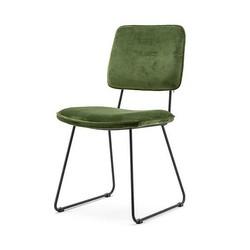 Groene Eetkamerstoel Whip - 59x47xH88 cm
