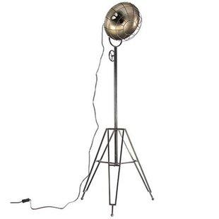 Vloerlamp Industrieel Metaal - 53xH157 cm