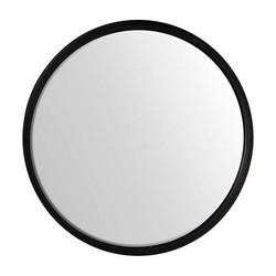 Zwarte Ronde Wandspiegel - Ø55,5 cm