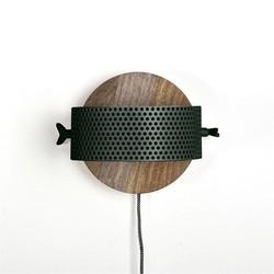 Wandlamp La Forge groen - 27,5x20xH21,5 cm