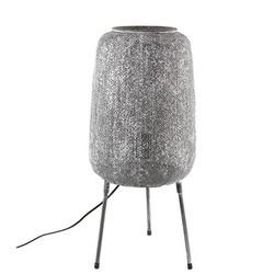 Zinken Tafellamp Noor - Ø24xH47 cm