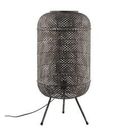 Zwarte Metalen Vloerlamp Dave - 37xH80 cm