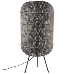Zwarte Metalen Vloerlamp Dave - 46xH99 cm