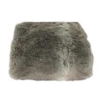 Bruine plaid imitatiebont - 130x170 cm