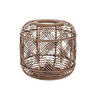 Bamboe Tafellamp Naturel - Ø32xH76 cm