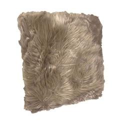 Bonte Sierkussen Taupe - 50xH50 cm