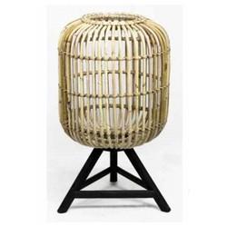 Bamboe Tafellamp - Ø36xH60 cm