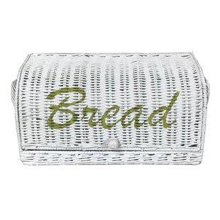 Witte Broodmand Riet- 38x19xH17 cm
