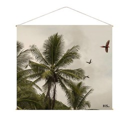 Palm Schooldoek - B160xL180 cm