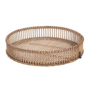 Ronde Bamboe Dienblad - Ø50xH10 cm