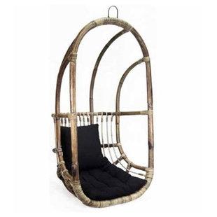 Hangstoel Rotan - 67x63xH125 cm