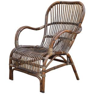 Rieten loungestoel - 67x80xH86 cm