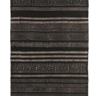 Vloerkleed stack zwart grijs neutraal- 160x230 cm