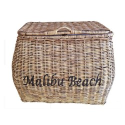 Rieten wasmand - Malibu Beach