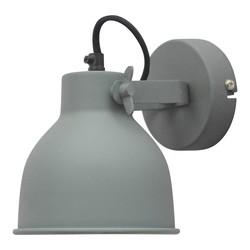 Wandlamp Industrial vintage grey - 14x16x19 cm