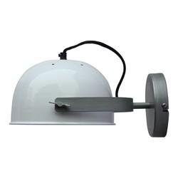 Wandlamp Retro Wit - 22x13x32 cm
