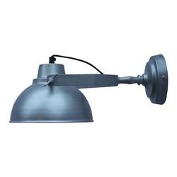 Wandlamp Urban antiek zink - 20x15x36 cm