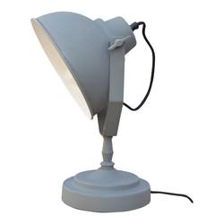 Tafellamp Vintage Grey - 20x39x18 cm