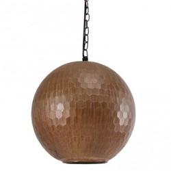 Koperen hanglamp Honeycomb - Ø25 cm
